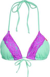 Mint & Purple Edge Lace Triangle Top image