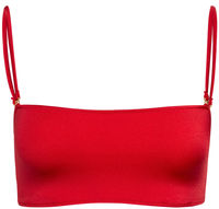Red Bandeau Tube Top image