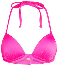 Neon Pink Push Up Bra image