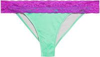 Mint & Purple Lace Classic Band Bottom image