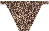 Leopard Full Coverage Mid-Rise Band Bottom image