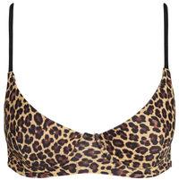 Leopard Underwire Bra Top image