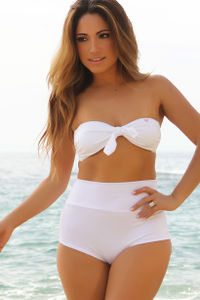 Waikiki White High Waist Scrunch Original Bottoms image