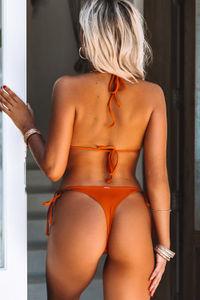Rust Brazilian Thong Bottom image