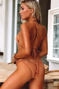 Hyacinth Tan Bikini Top image