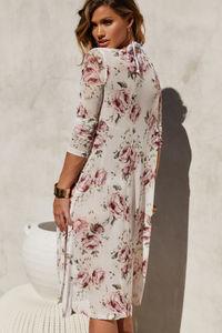 La Vie en Rose Chiffon Kimono Cover Up image