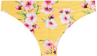 Yellow Cherry Blossom Banded Classic Scrunch Bottom image