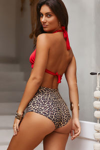 Leopard Print High Waist Scrunch Original Bottoms image