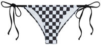Black & White Checkered Classic Scrunch Bottom image