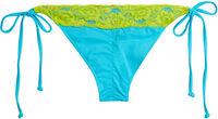 Aqua & Yellow Edge Lace Classic Scrunch Bottom image