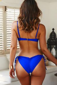 Royal Blue Bralette Top image