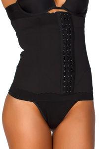 Black Waist Trainer and Cincher Body Shaper Undergarment image