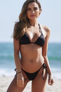 Black Triangle Bikini Top image