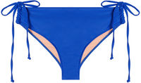 Royal Blue Full Coverage Mid-Rise Scrunch Bottom image