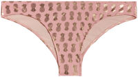 Blush & Gold Pineapple Banded Classic Scrunch Bottom image
