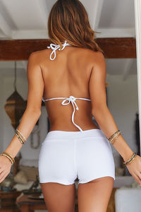 White Swim Shorts image