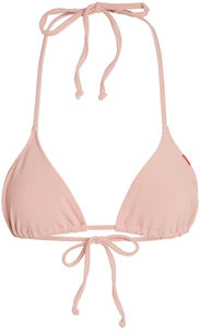 Blush Ribbed Triangle Top image