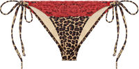 Leopard & Red Edge Lace Classic Bottom image