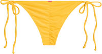 Yellow Ribbed Classic Scrunch Bottom image