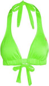 Neon Green Adjustable Halter Top image