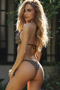 Leopard & Black Triangle Top image