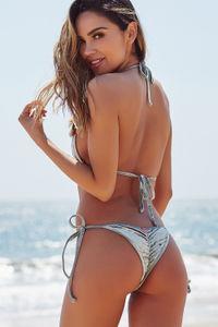 Laguna Sage Velvet Classic Bikini Top image