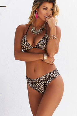 Leopard & Black Triangle Top image
