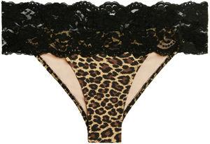 Maui Leopard & Black Lace Classic Band Bottom image
