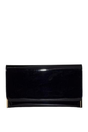 Black Patent Leather Essential Clutch
