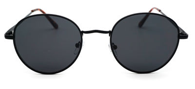 Billie Black Round Sunglasses