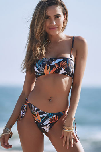 Birds of Paradise Bandeau Tube Top