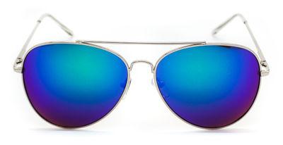 Amelia Blue Aviator Sunglasses