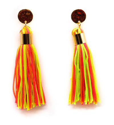 Carnival Tassel Earrings