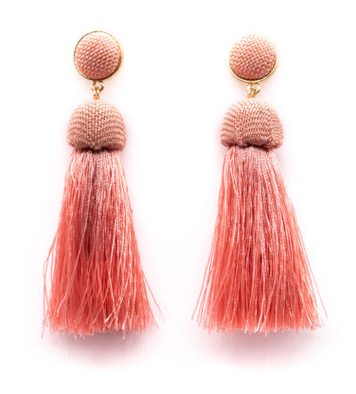 Pink Curtain Call Droplet Earrings