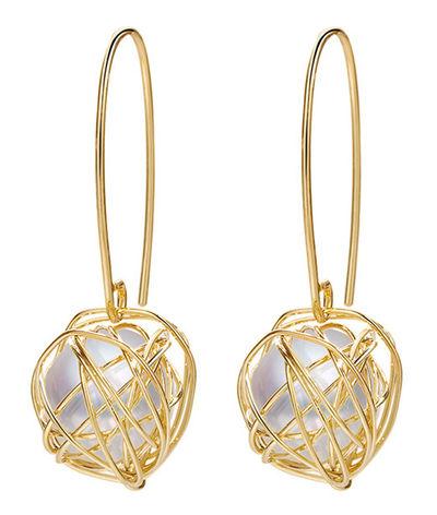 Bellezza Gold Drop Earrings