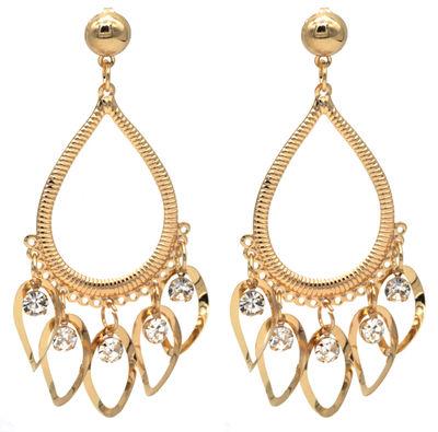 Devi Gold Dangle Earrings