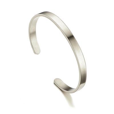 Polished Silver Bracelet