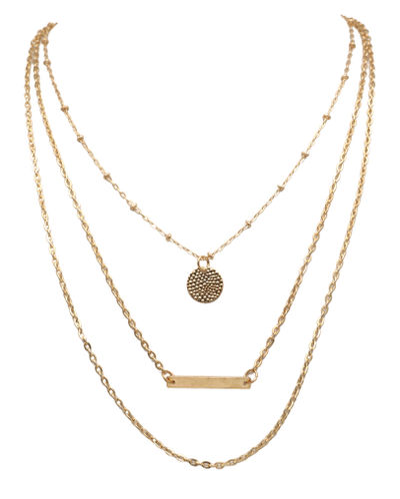 Modern Multi Chain Necklace
